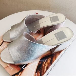 NWT Dolce Vita Juels Leather Mules Sz 6